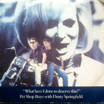 Pet Shop Boys w/Dusty Springfield 45 Record - Records