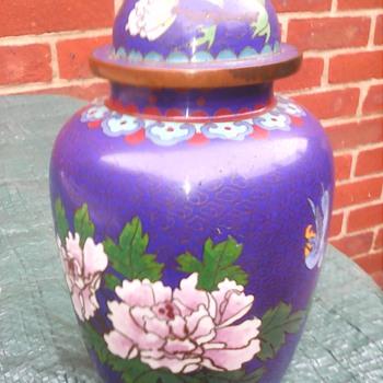 My cloisonne jar ? - Asian