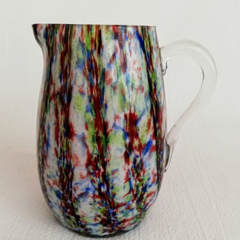 Small Welz Jug - Art Glass