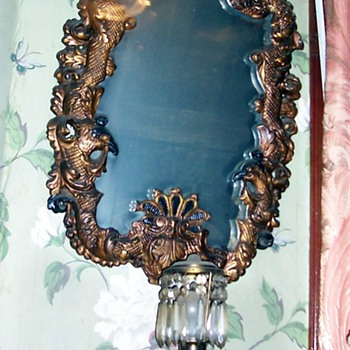 Pair of  wall mirrors