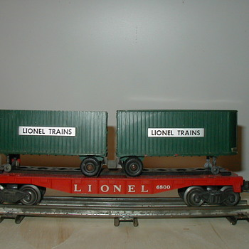 Post war Lionel 460 set with 6800 car - Model Trains