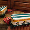 "1950's""MICKEY'S MOUSKEMOVERS"" TIN ""FRICTION DRIVE"" 2 PIECE MOVING VAN(S) ++"