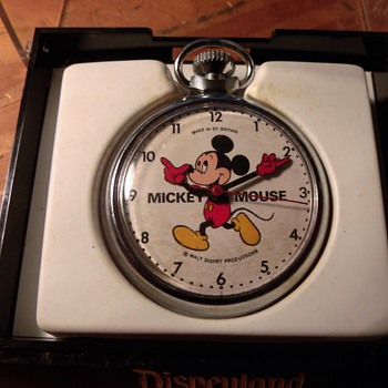 "The ""Last"" Issue ""English"" Mickey Mouse Pocket Watch - Wristwatches"