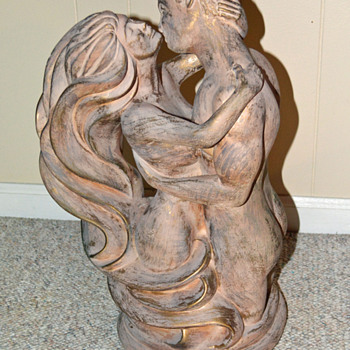 Male and Female Embrace (Part1) - Fine Art