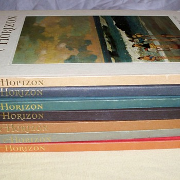 My Rare Out Of Print Horizon Magazine Collection