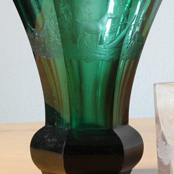damaaged  egemann beaker from 1839 - Art Glass