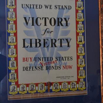 Liberty bond counter display - Advertising