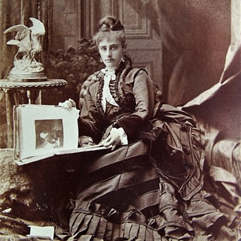 Miss Nellie Randall 1873  Portland Maine married George Ernest Jenkins of Montreal - Photographs