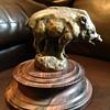 Bronze Boar Hood Ornament