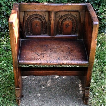 17th Century Child's Bench From Estate Of Opera Singer Frances Yeend - Furniture