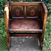 17th Century Child's Bench From Estate Of Opera Singer Frances Yeend