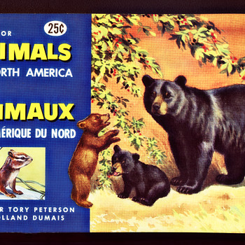 Brook Bond Animals Of North America Album #2, 1960 - Advertising