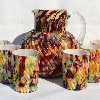 Welz beverage set - Art Glass