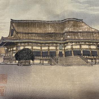 Asian silk print  - Asian