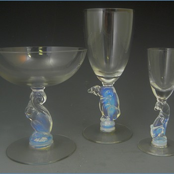 Libbey Nash Silhouette Line - Art Glass