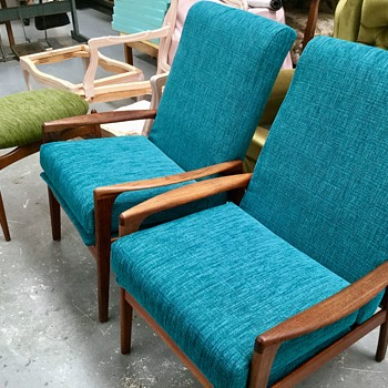 Fler Norsk TV chairs - Mid-Century Modern
