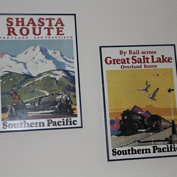 Railroad Posters - Posters and Prints
