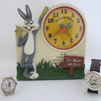 Bugs Bunny Alarm Clock & Watches - Clocks