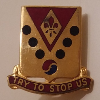 45th Field Artillery DUIs - Military and Wartime