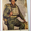 "An Old Postcard entitled - ""  Canadian Soldier """