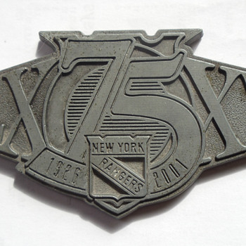 NY Rangers Medallion - Hockey