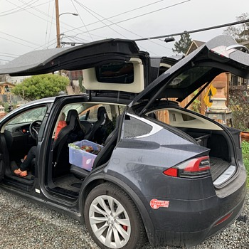 Tesla X - i got to drive it! - Classic Cars