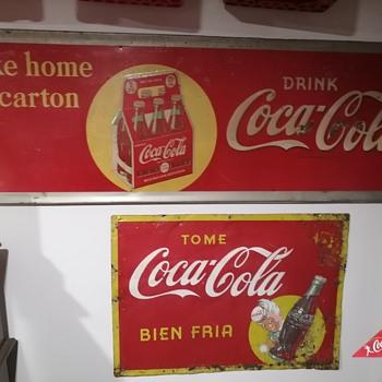 1940s Coca Cola signs - Coca-Cola