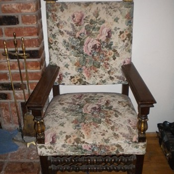 High Back Arm Chairs - Furniture