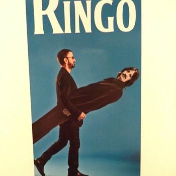 Ringo Starr promo card-2013 - Music Memorabilia