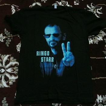 Ringo's personally owned South American tour shirt-2013