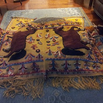 Horse Blanket - Andean? - Rugs and Textiles