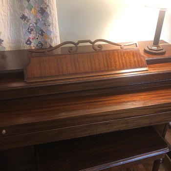 1944 Baldwin Acrosonic—same family 76 years - Musical Instruments