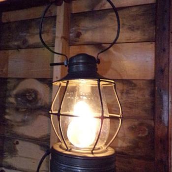 Jenk's Railroad Lamp - Lamps