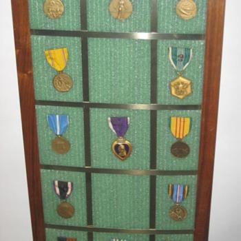 War Medals minus one :)