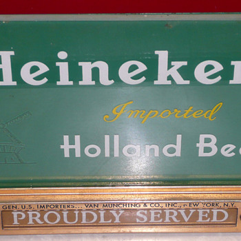 Heineken Register Light 01 - Breweriana