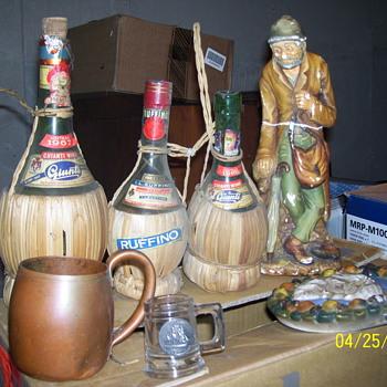 vintage bottles /ole gem