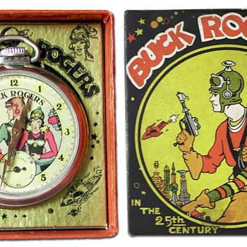 Buck Rogers Pocket watch with box. - Pocket Watches