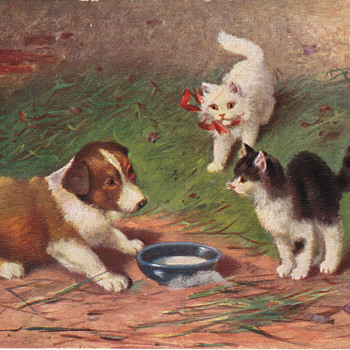 Antique Peter Luhn Postcard - Postcards