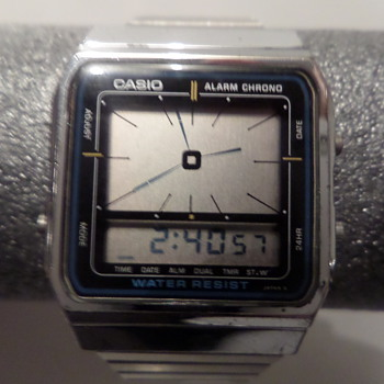 1980s Casio AE-54 - Wristwatches