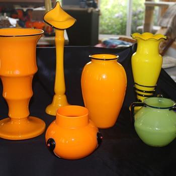 Tango collection - Art Glass