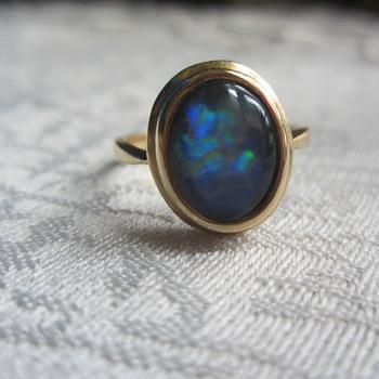 14k Opal Ring - Fine Jewelry