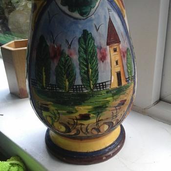 italian jug - Pottery