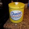domino sugar container