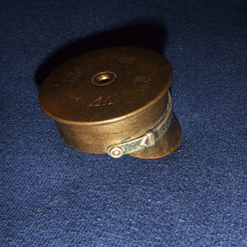 WW1 Trench Art military cap - Military and Wartime