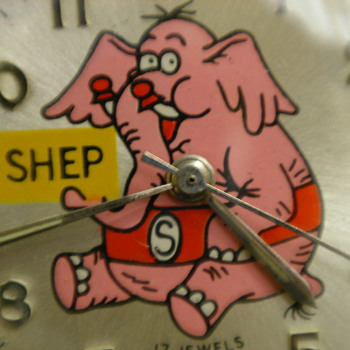 1972 'Shep' the Pet Elephant Wristwatch by Jay Ward - Wristwatches