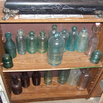 bottle collection - Bottles