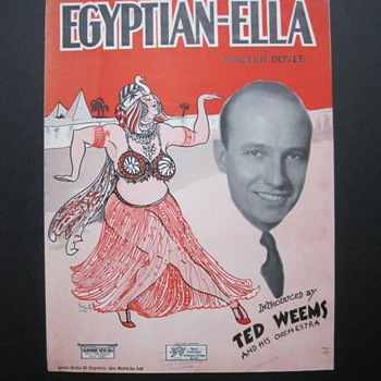 Egyptian Ella - Music Memorabilia