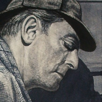Alan Wheatley As Sherlock Holmes Painting By Patrick Varriano - Fine Art