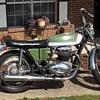 My 1971 BSA 650 cc Motorcycle