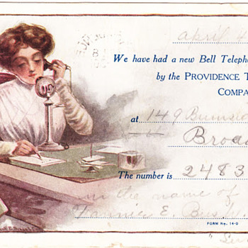 Providence Telephone Postcards